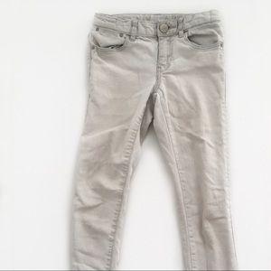 GAP kids light wash skinny jeans 8
